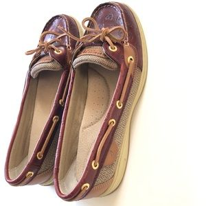 Sperry TopSider Angelfish with Anchors Size 8
